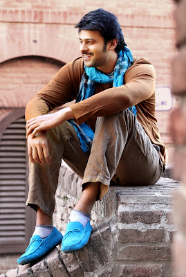 Stills: Prabhas's in Telugu Movie 'Mirchi'
