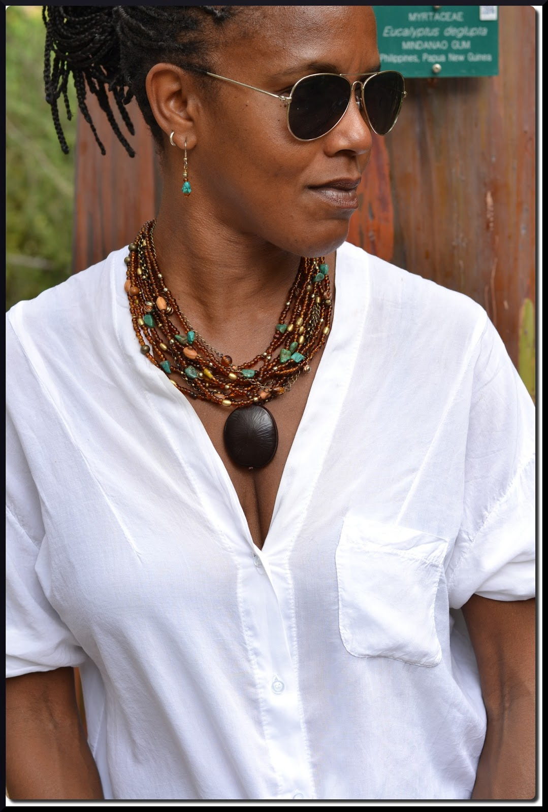 How I Wear My Peace Of Jewelry Tagua Nut Amp Seed Bead