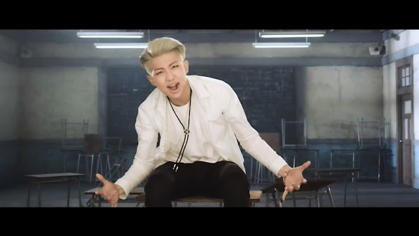 BTS Boy In Luv Rap Monster