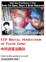 Chinese Communist Party Brutal persecution of Falun Gong 中共残酷迫害法轮功