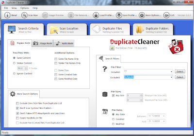 Windows Duplicate Files Finder Software - Duplicate Cleaner