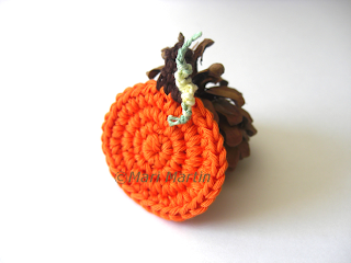 Crochet Miniature Pumpkin