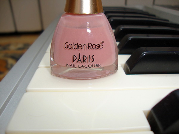 Golden Rose, Nail Polish, Nails