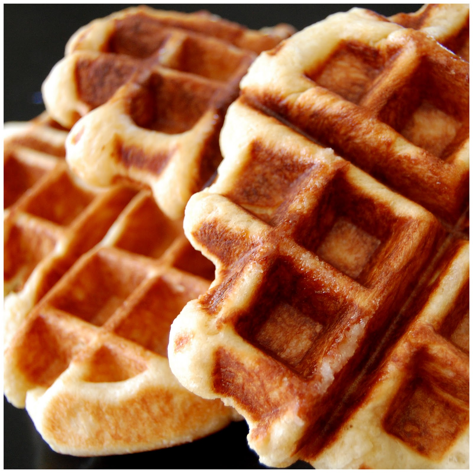 Bourbonnatrix Bakes: perfectly imperfect waffles