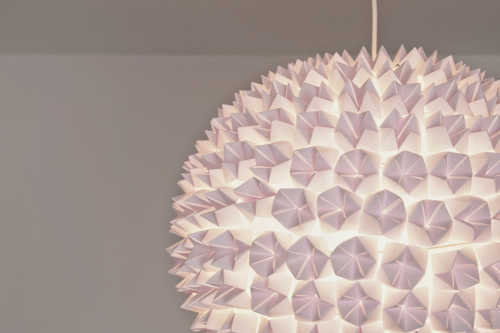 Glamourisious Diy Design Origami Lampe Fashion Kitchen