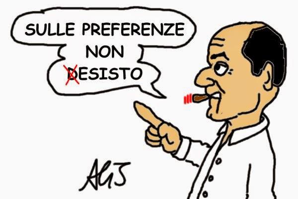 Bersani, italicum, satira