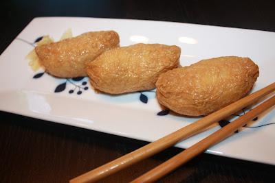 vegan sushi, inarizushi