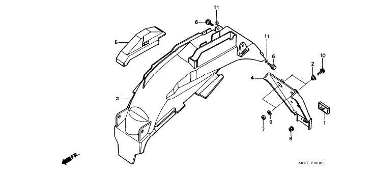suzuki ozark rear end parts diagram  suzuki  auto wiring