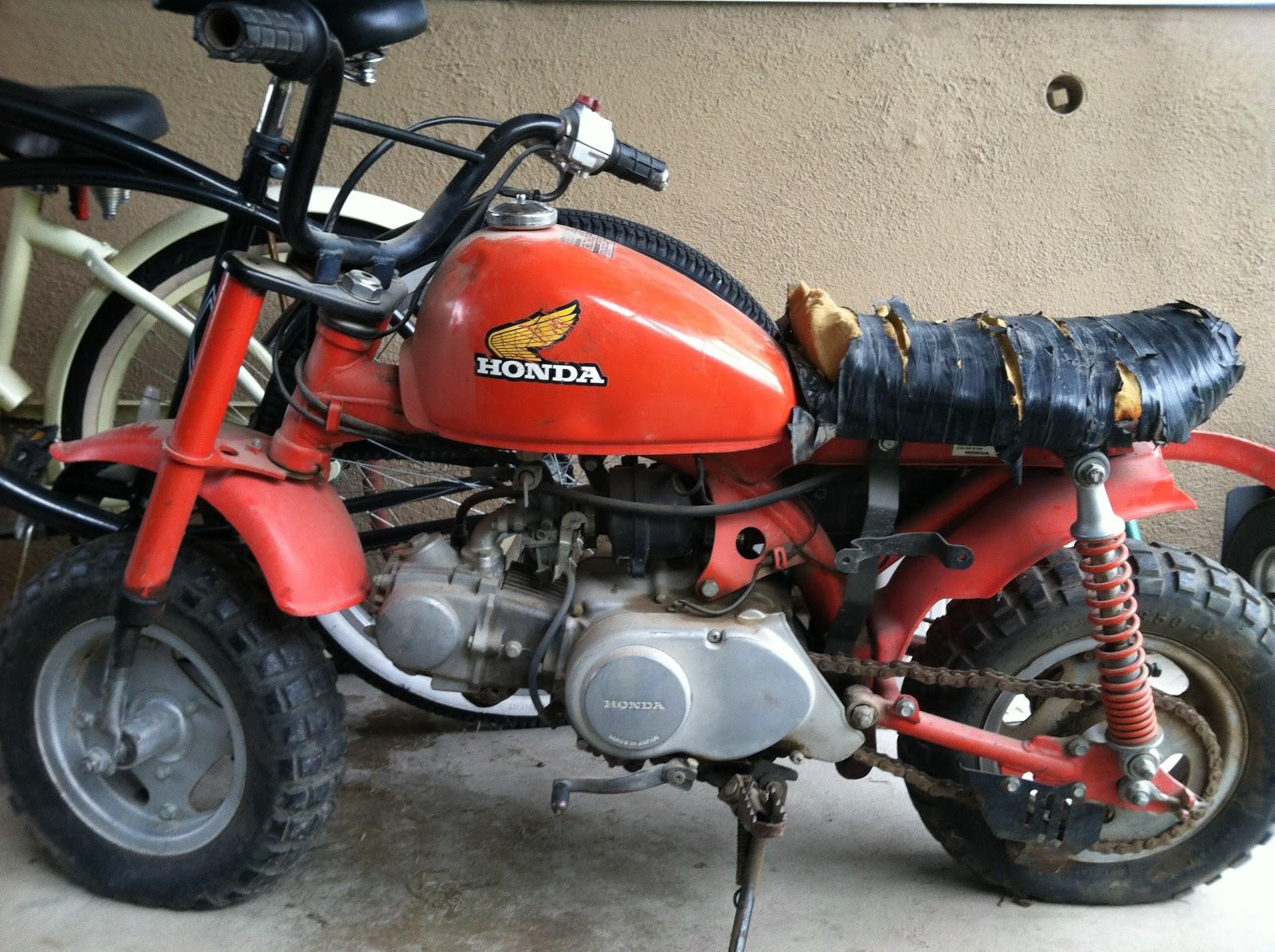 1984 honda z50r mini bike restoration introduction. Black Bedroom Furniture Sets. Home Design Ideas