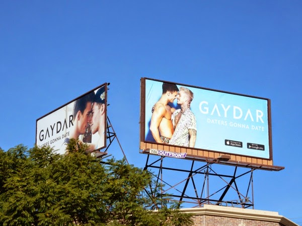 Gaydar Daters Gonna Date billboards