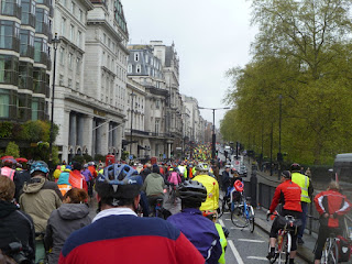 London Cycling Campaign Big Ride heads down Piccadilly