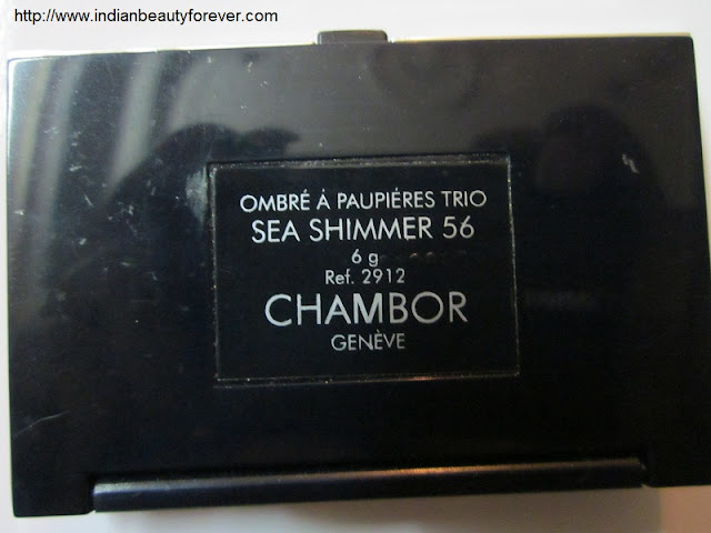 chambor eyeshadow review