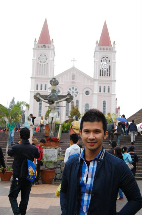 Baguio Cathedral near Session Road