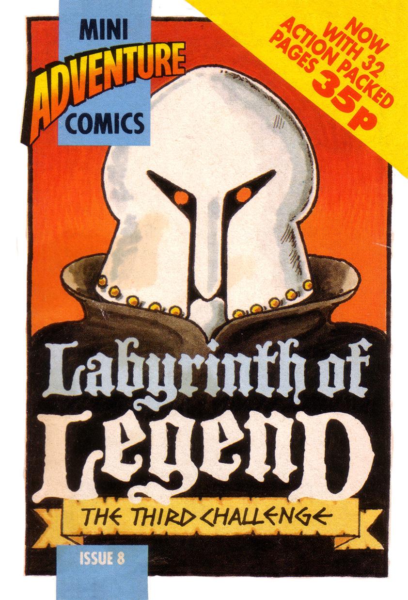 Mini Adventure Comics #8<br>Labyrinth of Legend
