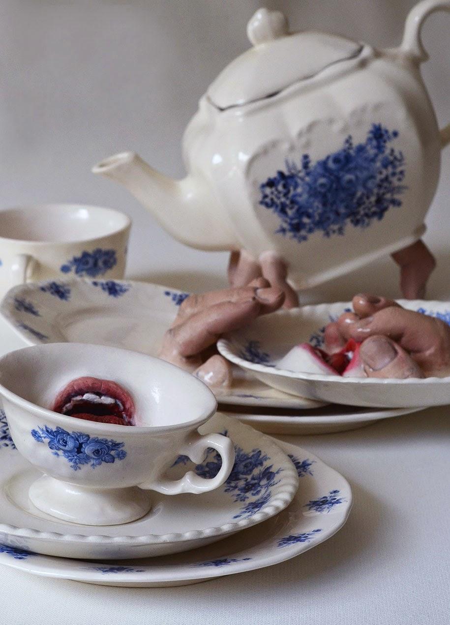 creepy ceramic tableware ronit baranga-3