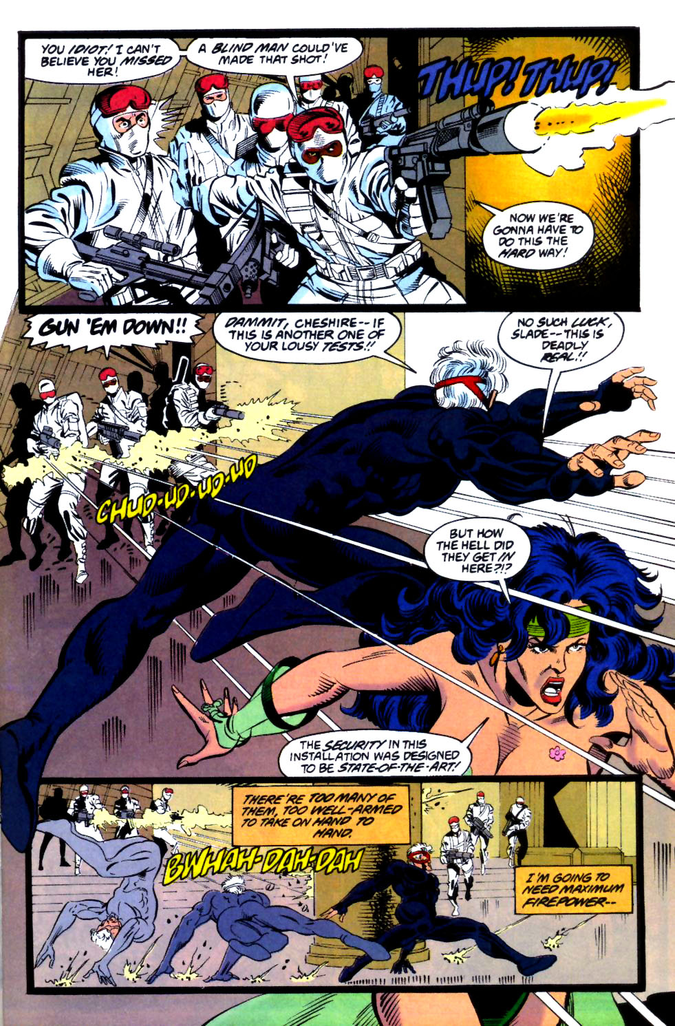 Deathstroke (1991) Issue #18 #23 - English 12