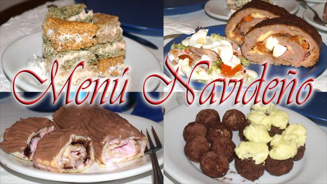 menu navideño 2012