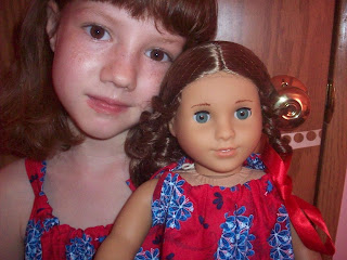 Daughter and Doll Dress