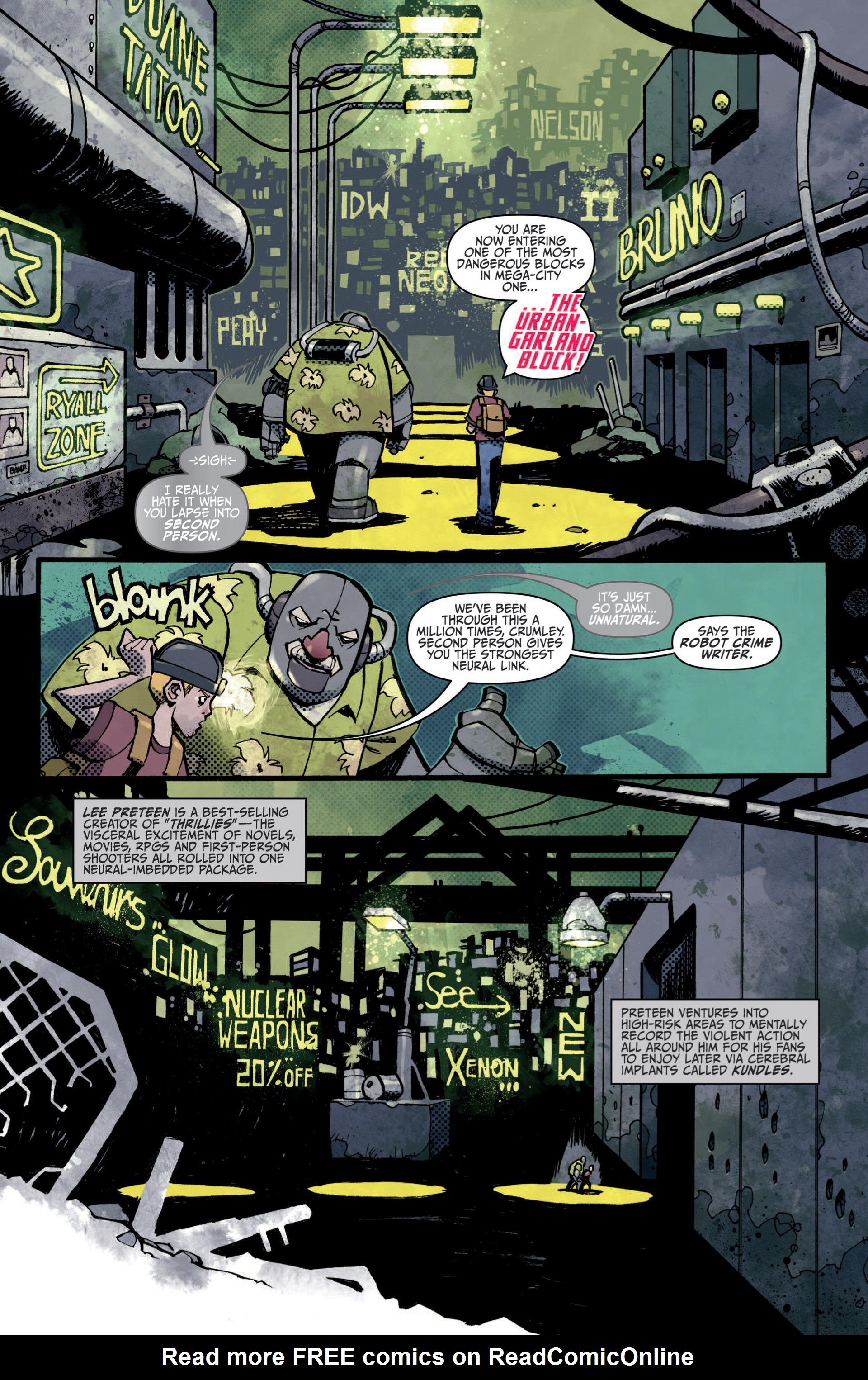 Read online Judge Dredd (2012) comic -  Issue #5 - 3