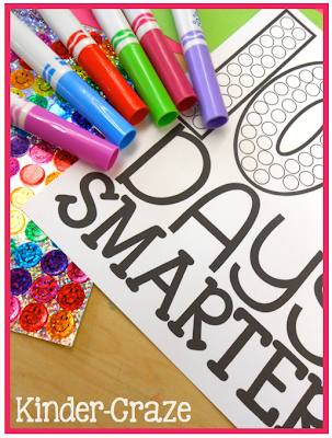 use markers or stickers to decorate a hat for the 100th Day of School, $2.50