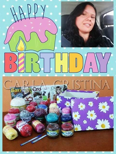 Sorteio no Carla Cristina e Crochet