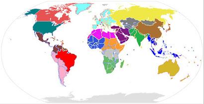 1) Il Mondo Futuro Intermedio - 18 Stati e 21 Catepi