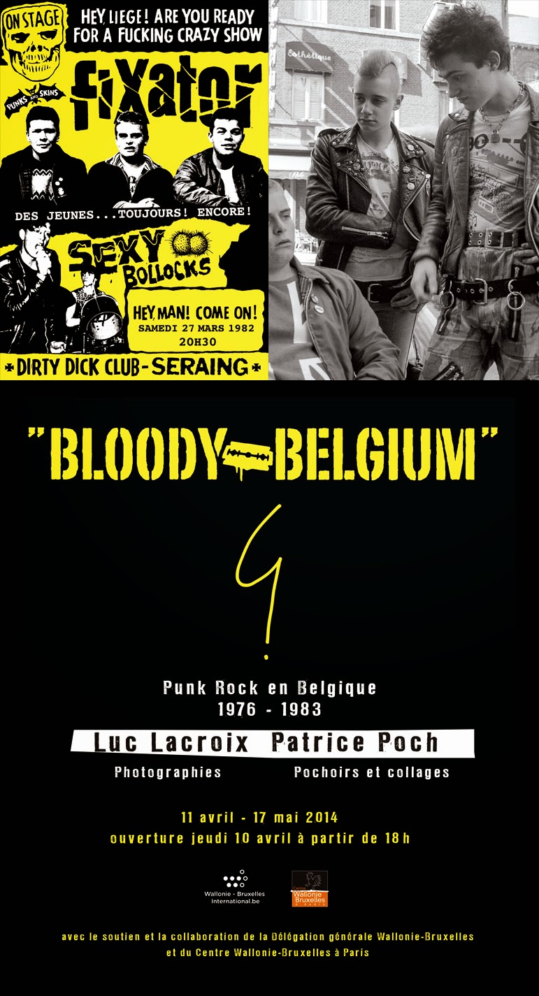 """... world !: What to do in Paris : Exposition """"Bloody Belgium"""