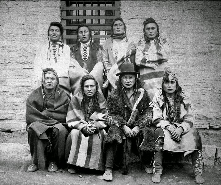 Crow Indian Chiefs in Montana