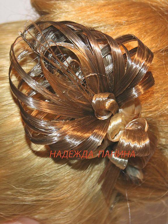 Мастер класс заколки из волос