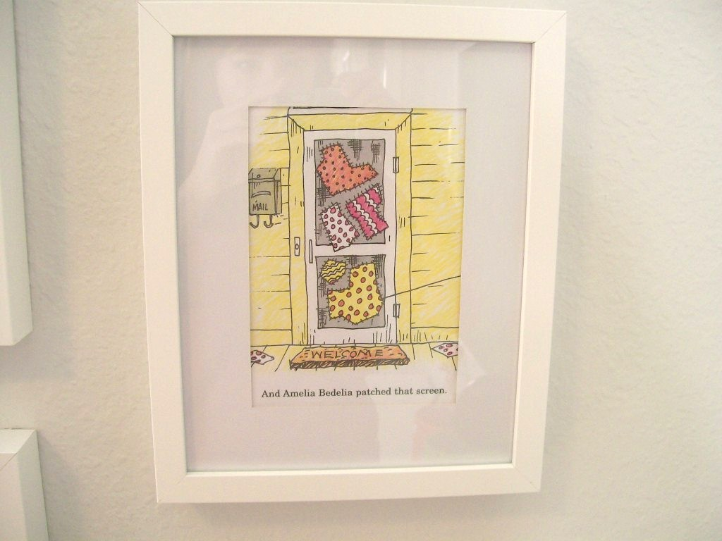The Pear Tree Cottage: Framed Art For a Child\'s Room