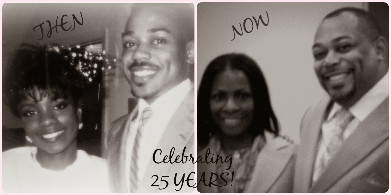 celebrating 25 years of marriage
