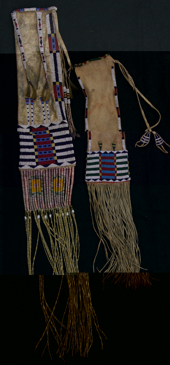 Arapaho Beadwork http://boulderhistorylibrarian.blogspot.com/2012/08/gallery-talk-arapaho-beadwork-on-friday.html