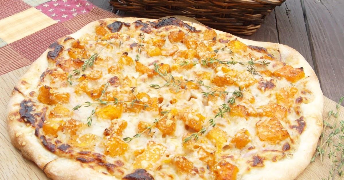 Beautiful Mess: Butternut Squash and Roasted Garlic Pizza