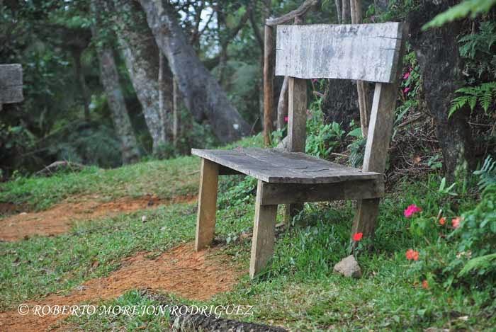 la Aguada de Joaquín en nuestro ascenso al Pico Turquino