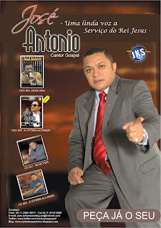 BANNER OFICIAL DO CANTOR JOSE ANTONIO