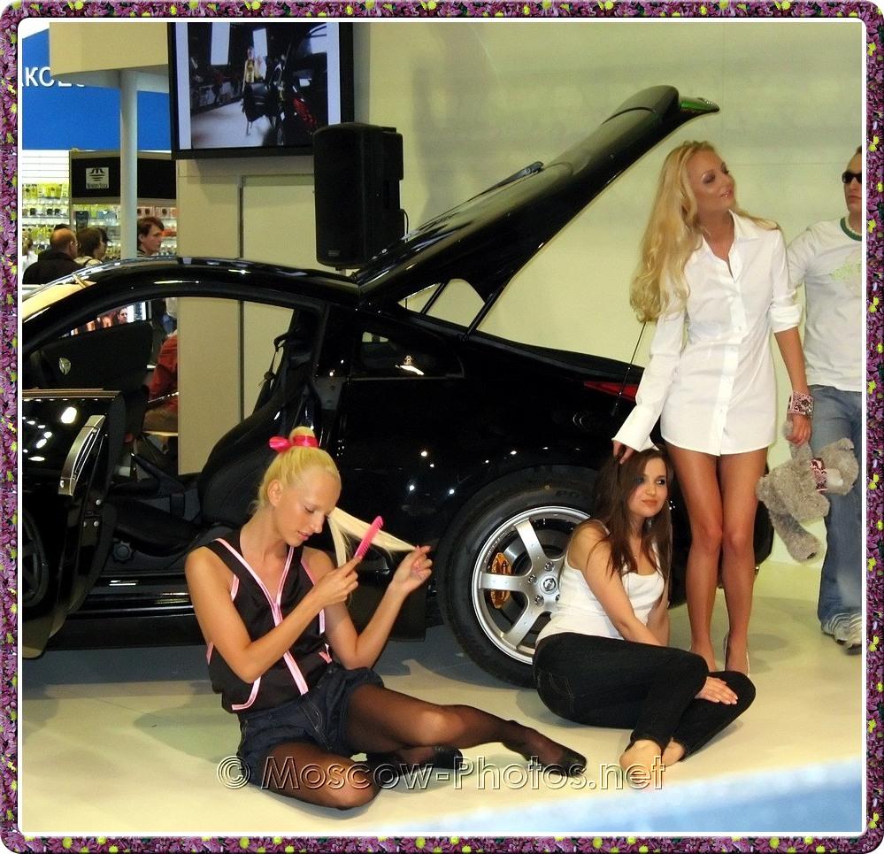 Girls and car at Photoforum - 2008