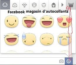 Télécharger Line autocollants gratuit dans Facebook magasin d'autocollants 1
