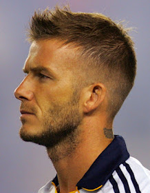 David Beckham Spiky Hairstyle