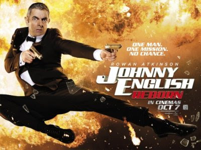 Johnny  English Reborn teaser poster