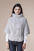 Pulover gri pe gat 4403 (Ama Fashion)