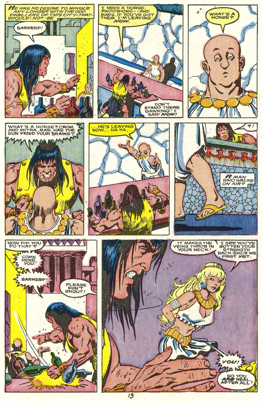 Conan the Barbarian (1970) Issue #214 #226 - English 10