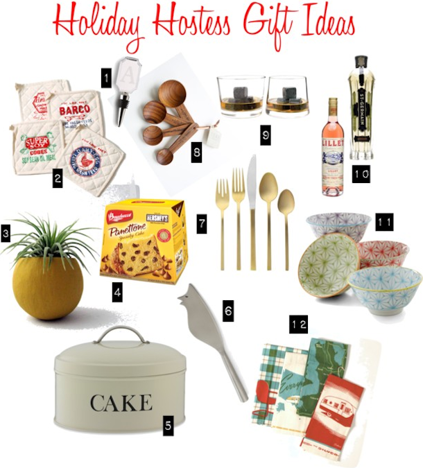 12 holiday hostess gift ideas under 40 always order dessert for Holiday party gift ideas for the hostess
