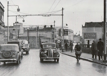 Commercial Road in the 1950's