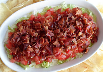 blt dip-while we still have garden tomatoes!