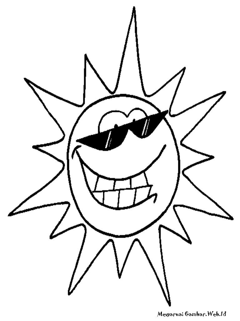 ... gambar akan membagikan lembar mewarnai gambar matahari untuk anda