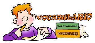 Resultado de imagen de vocabulario dibujo