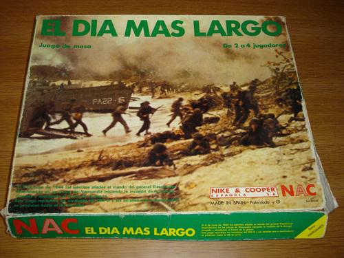 Los Abuelos del Wargame Histórico: Los Juegos NAC
