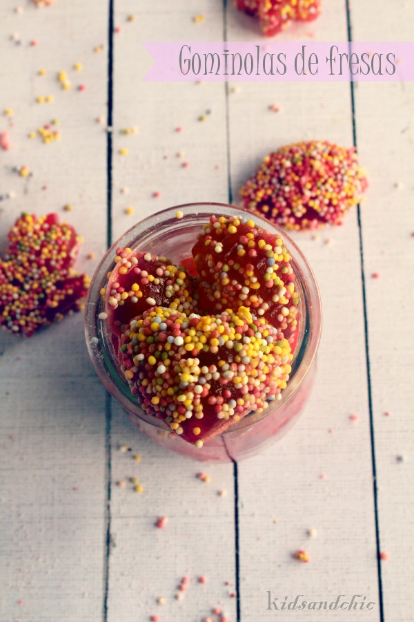 gominolas de fresas caseras -que rico mami