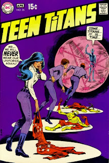 Cover of Teen Titans #26 by Nick Cardy