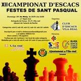 XII Campionat d'Escacs Festes de Sant Pascual